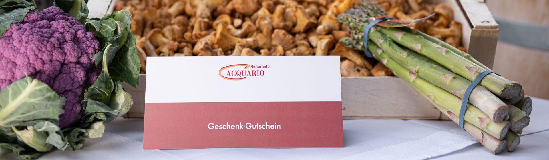Acquario Restaurant Gutschein