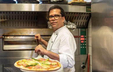 Unser Pizzabäcker