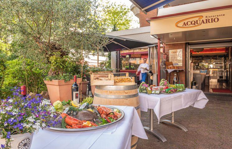 Acquario italienisches Restaurant Eingang