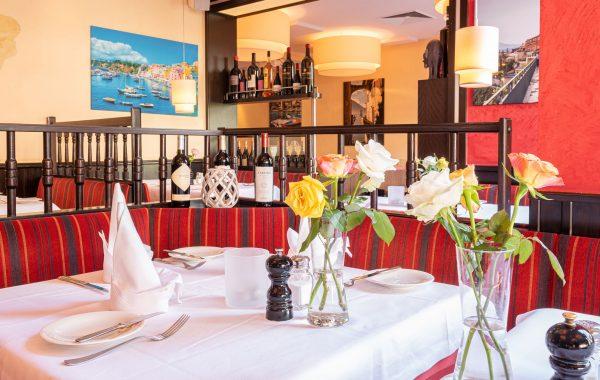 Acquario italienisches Restaurant innen